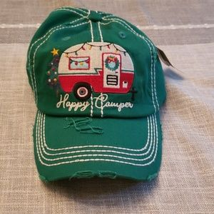 Happy Camper Womens Hat